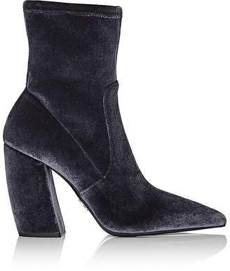 Prada Women's Velvet Ankle Boots