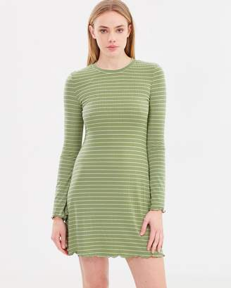 All About Eve Madeline Long Sleeve Dress