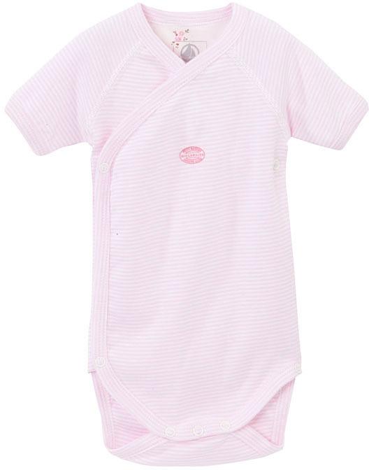 Petit Bateau Newborn Baby Short-Sleeved Milleraies Bodysuit