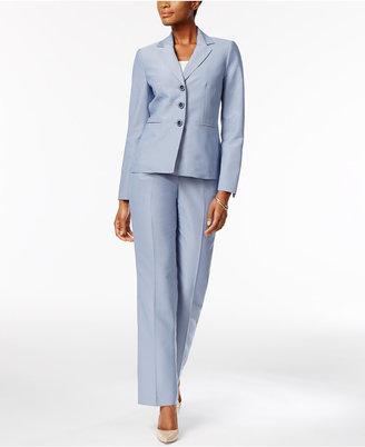 Le Suit Pinstripe Pantsuit $200 thestylecure.com