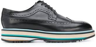 Paul Smith Black Label platform derby brogues