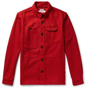 Freemans Sporting Club Wool-Blend Shirt Jacket