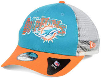 New Era Boys' Miami Dolphins Trucker Joy 9FORTY Cap