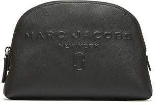 Marc Jacobs Logo Embossed Cosmetic Bag