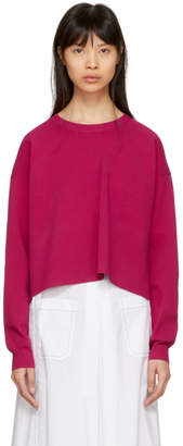 Acne Studios Pink Perty Compact Sweater