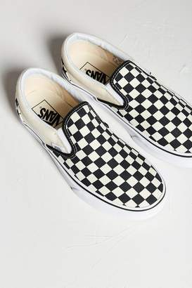 Vans Checkerboard Slip-On Sneaker $50 thestylecure.com