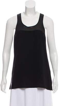 Victoria Beckham Sleeveless Scoop Neck Top