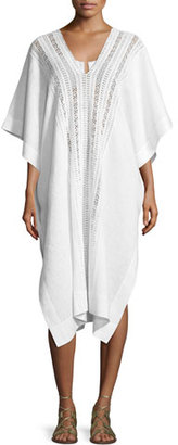 Miguelina Bianca Caftan Coverup, Pure White $395 thestylecure.com