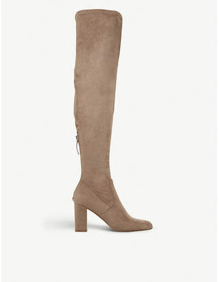 Steve Madden Anton ruched over-the-knee boots