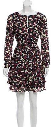 Reiss Printed Mini Dress $75 thestylecure.com