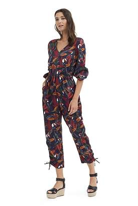 Country Road Tropic Print Jumpsuit