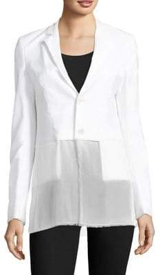 Hybrid Wool-Silk Jacket
