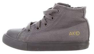 Akid Kids' Canvas High-Top Sneakers