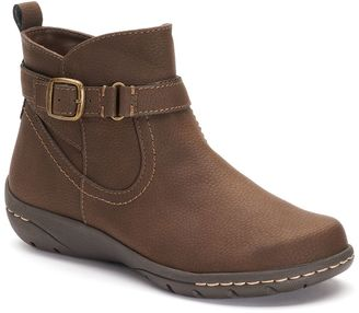 Croft & Barrow® Women's Ortholite Buckle Ankle Boots $74.99 thestylecure.com