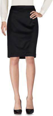 ARMANI COLLEZIONI Knee length skirts $191 thestylecure.com