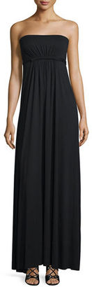 Rachel Pally Strapless Empire-Waist Caftan Dress, Plus Size $275 thestylecure.com