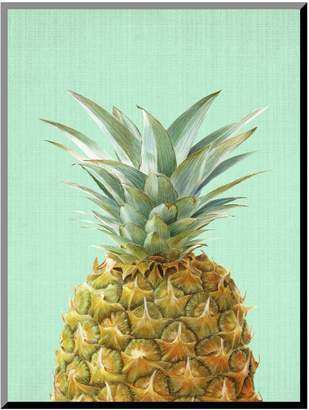Art.com Peek-A-Boo Pineapple Mounted Wall Art Print