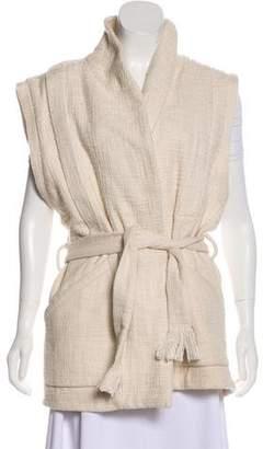 IRO Shawl-Lapel Knit Vest