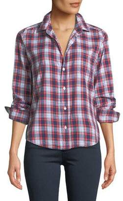 Frank And Eileen Barry Long-Sleeve Plaid Button-Front Shirt