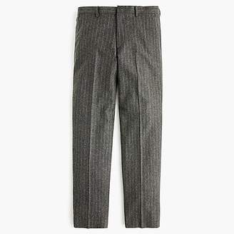 J.Crew Ludlow Classic-fit suit pant in chalk-stripe Italian wool blend