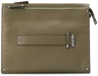 Valentino flat handle clutch bag