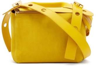 Sophie Hulme Bolt Suede Shoulder Bag - Womens - Yellow