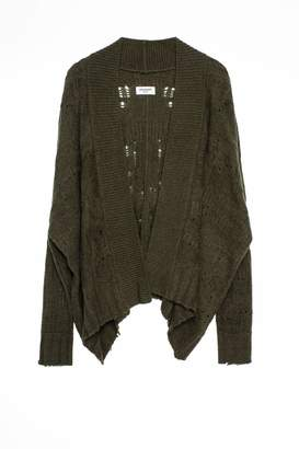 Zadig & Voltaire Tanya Camou Deluxe Cashmere cardigan