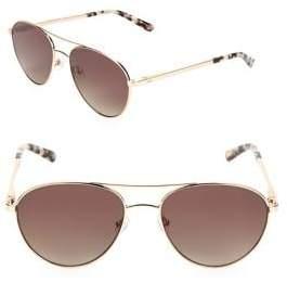 Ted Baker 55MM Aviator Sunglasses