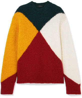 Derek Lam Color-block Knitted Sweater - Red