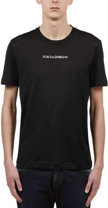 Dolce & Gabbana Embroidered Logo T-shirt