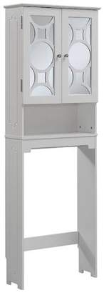 URBAN RESEARCH Generic Runfine Etagere, 2 Mirror with 1 Adjustable Shelf and Chrome Knob