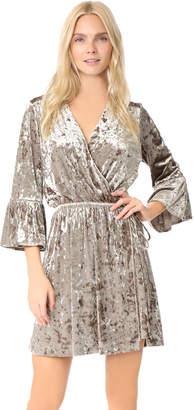 L'Agence Riley Wrap Dress