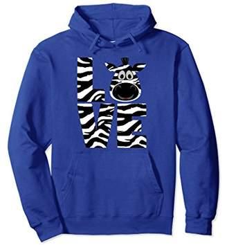 Zebra Hoodie For Zebra Print Lovers