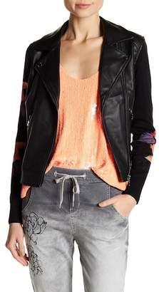 Desigual Rosaura Faux Leather Jacket
