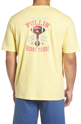 Tommy Bahama Pullin for the Home Team Graphic Crew Neck Tee (Big & Tall) $58 thestylecure.com