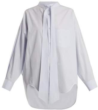 Balenciaga - New Swing Shirt - Womens - Grey