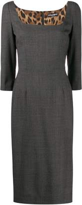 Dolce & Gabbana fitted work dress