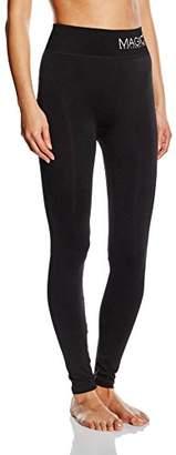 Magic Body Fashion Magic Bodyfashion Women's 70YP Shaping Leggings - Black - UK
