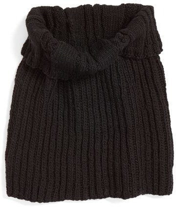 Women's Nirvanna Designs Oversize Cable Knit Wool Infinity Scarf