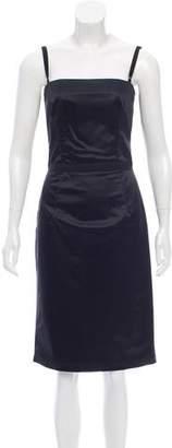 Dolce & Gabbana Satin Sleeveless Dress
