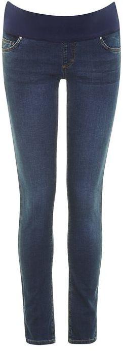 "TopshopTopshop Maternity 32"" dark vintage leigh jeans"