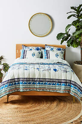 Anthropologie Artisan Quilts by Kirby Quilt