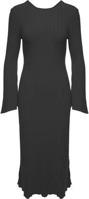 Simon Miller Wells Rib-knit Midi Dress