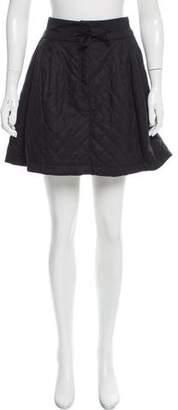 See by Chloe Wool-Blend A-Line Skirt