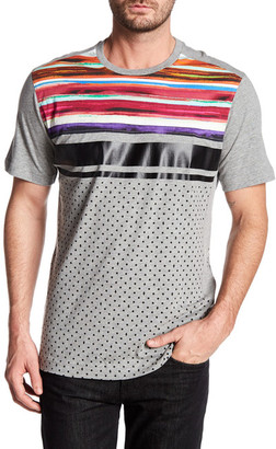 Robert Graham Trail Knit Tee $98 thestylecure.com