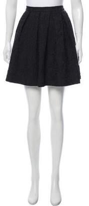 Dries Van Noten Wool Mini Skirt