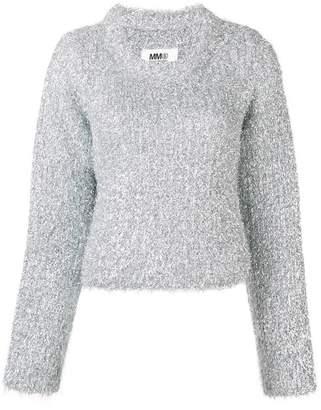 MM6 MAISON MARGIELA 'metal shavings' sweater