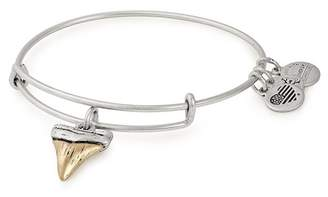 Alex and Ani Shark Tooth II Charm Wire Adjustable Bracelet