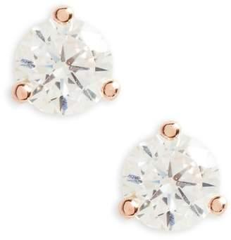 Nordstrom .25ct tw Cubic Zirconia Stud Earrings