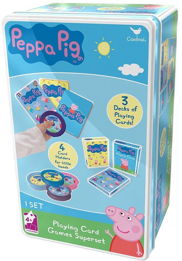 Cardinal Peppa Pig Playing Card Games Superset by Cardinal